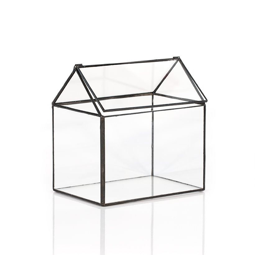 Soldered House Terrarium (Black)